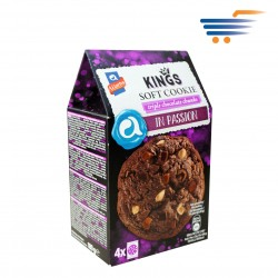 ALLATINI KINGS SOFT COOKIES TRIPLE CHOCOLATE CHUNKS  (4X45GR)