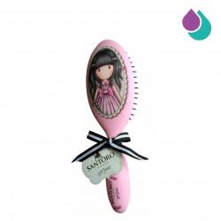 SANTORO LONDON GORJUSS HAIR BRUSH (PINK)