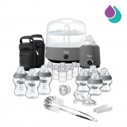 TOMMEE TIPPEE COMPLETE FEEDING SET - GRAY