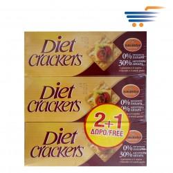BAKANDYS WHOLEMEAL DIET CRACKERS 3X200GR