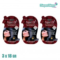ARGAN OIL INTENSIVE HAIR TREATMENT 3X18GR