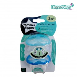 TOMMEE TIPPEE STAGE 1 EASY REACH TEETHER (BLUE)