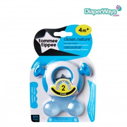 TOMMEE TIPPEE STAGE 2 EASY REACH TEETHER 4+ MONTHS (BLUE)