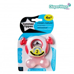 TOMMEE TIPPEE STAGE 2 EASY REACH TEETHER 4+ MONTHS (PINK)