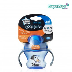 TOMMEE TIPPEE FIRST CUP 150ML 4+ MONTHS (BLUE)