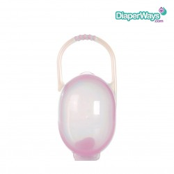 NUBY PACI-CRADLE FOR 2 PACIFIERS (PINK)