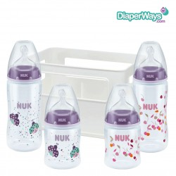 NUK FIRST CHOICE PLUS GIRL SET 0-6 MONTHS