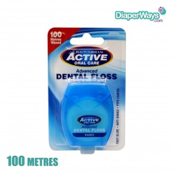 BEAUTY FORMULAS ACTIVE ORAL CARE ADVANCED WAXED DENTAL FLOSS (100 METRES)
