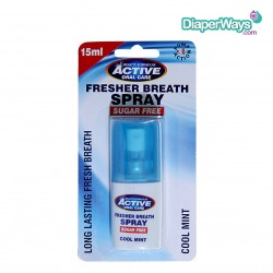 BEAUTY FORMULAS ACTIVE ORAL CARE FRESHER BREATH SPRAY COOL MINT 15ML