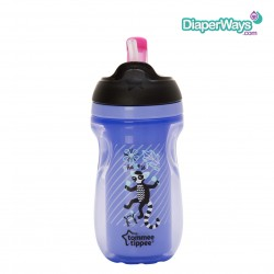 TOMMEE TIPPEE STRAW CUP  12+MONTHS  230ML (PURPLE SHAKE IT)
