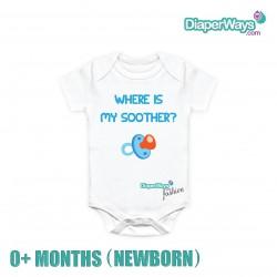 DIAPERWAYS FASHION BODYSUIT 0+ MONTHS (NEWBORN)