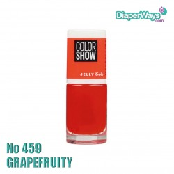MAYBELLINE COLOR SHOW NAIL POLISH 7ML (No459 GRAPEFRUITY)