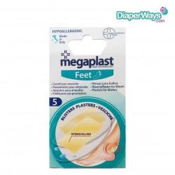 MEGAPLAST FEET BLISTERS - PLASTERS FOR BLISTERS X5