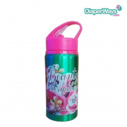 DISNEY FROZEN ALUMINIUM BOTTLE 400ML (GREEN)