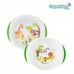 CHICCO DISH SET 12+MONTHS