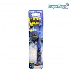 BATMAN TRAVEL KIT TOOTHBRUSH & CAP  X 3