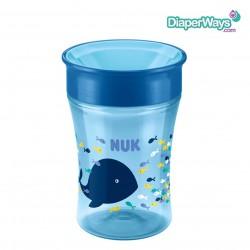 NUK MAGIC CUP 8+ MONTHS (BLUE WHALE)