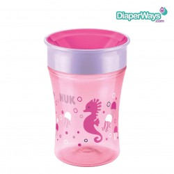 NUK MAGIC CUP 8+ MONTHS (PINK SEAHORSE)