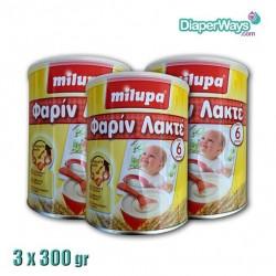MILUPA FARINE LACTEE 3X300GR