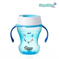 TOMMEE TIPPEE 360° TRAINER CUP  230ML  6+ MONTHS (BLUE)