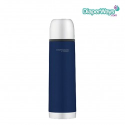 THERMOCAFE BY THERMOS STAINLESS STEEL VACUUM INSULATED BEVERAGE BOTTLE  500ML  (BLUE)