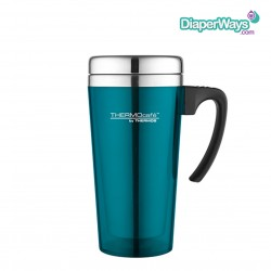 THERMOS SOFT TOUCH TRAVEL MUG (TURQUOISE) 420ML