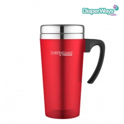 THERMOS SOFT TOUCH TRAVEL MUG (RED) 420ML