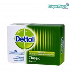 DETTOL CLASSIC ANTIBACTERIAL BAR SOAP 100GR