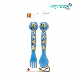 DESPICABLE ME MINIONS- 2PC CUTLERY SET