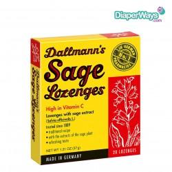 DALLMANN'S SAGE LOZENGES - 20 LOZENGES (RED)