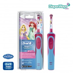 ORAL-B STAGES POWER ELECTRIC TOOTHBRUSH PRINCESS 3+ YEARS