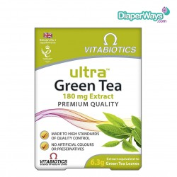 VITABIOTICS ULTRA GREEN TEA (30 TABLETS)