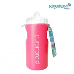 PURENORDIC BIO - PLASTIC DRINKING CUP FROM SUGAR CANES 500ML (PINK)