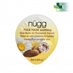 NUGG SOOTHING FACE MASK WITH SHEA BUTTER AND CHAMOMILE  10ML