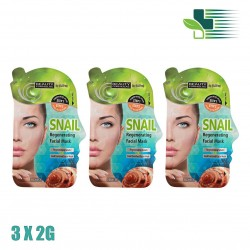 BEAUTY FORMULAS SNAIL REGENERATING FACIAL MASK 3Χ2GR