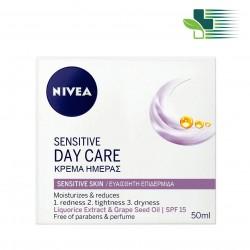 NIVEA FACE SENSITIVE DAY CREAM 50ML