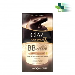 OLAZ TOTAL EFFECTS BB CREAM OF FOUNDATION SPF 15 FOR DARKER SKINS 50ML
