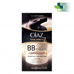 OLAZ TOTAL EFFECTS BB CREAM OF FOUNDATION SPF 15 FOR LIGHTER SKINS 50ML