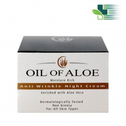 OIL OF ALOE MOISTURE RICH - ANTI WRINKLE NIGHT CREAM 50ML