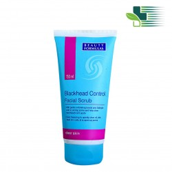 BEAUTY FORMULAS BLACKHEAD CONTROL FACIAL SCRUB 150ML