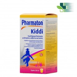 PHARMATON KIDDI FOOD SUPPLEMENT FOR CHILDREN 200ML