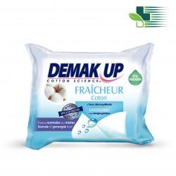 DEMAK UP FRAICHEUR WIPES MAKE-UP REMOVAL 25PCS