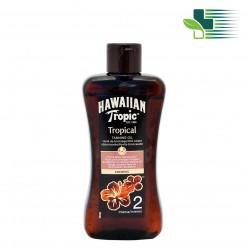 HAWAIIAN TROPIC TANNING OIL COCONUT INTENSE SPF2