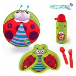 OOPS MY STARRY BACKPACK LUCKY + WEANING SET