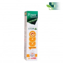 POWER HEALTH VITAMIN C 1000MG WITH STEVIA (24 EFFERVESCENT TABLETS)