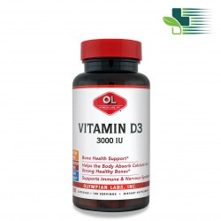 OLYMPIAN LABS VITAMIN D3 (100 PCS)