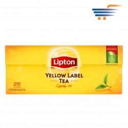 LIPTON BLACK TEA YELLOW LABEL ( 25 TEABAGS)