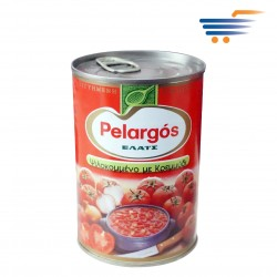 PELARGOS DICED TOMATOES WITH ONION 400GR