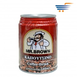 MR BROWN CAPPUCCINO COFFEE WITH MILK & CHOCOLATE 240ML