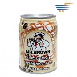 MR BROWN COFFEE CARAMEL LATTE 240ML